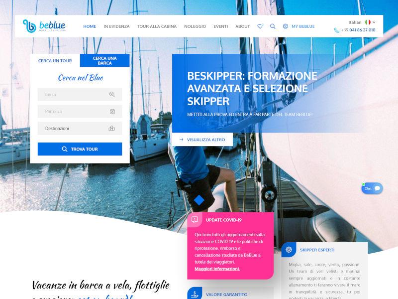 BeBlue Rent | Razvoj web aplikacija