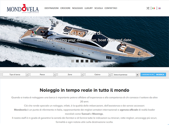 Mondovela Tour Operator | Web application development