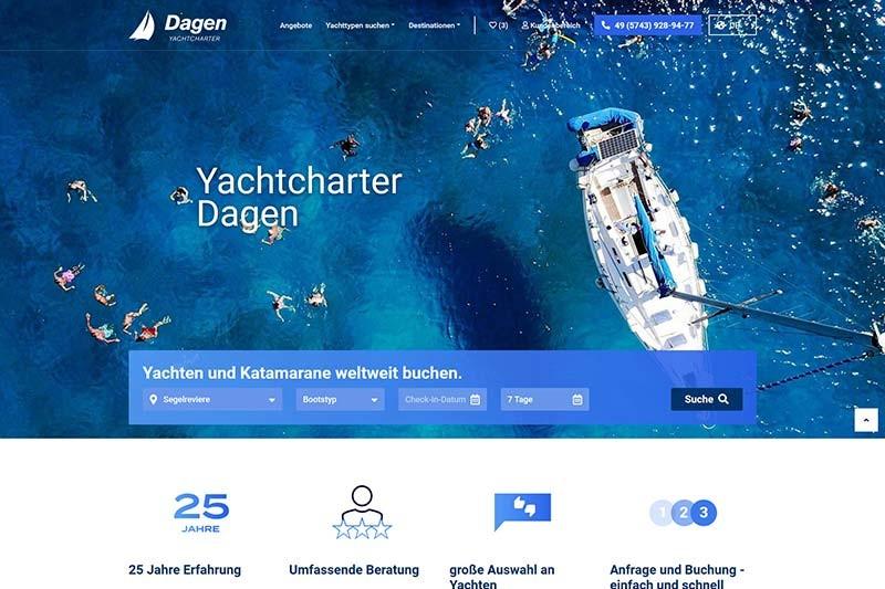 Yachtcharter Dagen